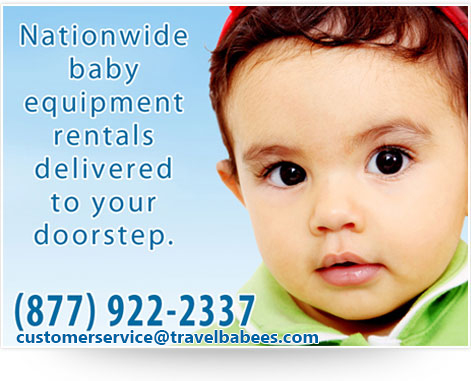Nationwide baby equipment rentals delivered to your doorstep. (877) 922-2337